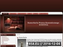 Miniaturka domeny kancelaria-iustitia.com