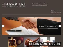 Miniaturka domeny kancelaria-lawtax.pl