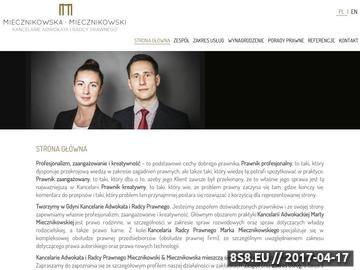 Zrzut strony Adwokat Gdynia - radca prawny Gdynia