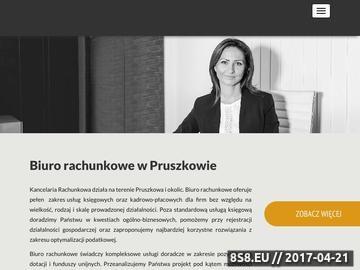 Zrzut strony Biuro rachunkowe w Pruszkowie