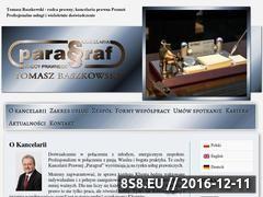 Miniaturka domeny www.kancelaria-paragraf.pl