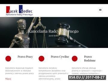 Zrzut strony Porady prawne Lublin