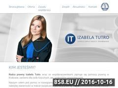 Miniaturka domeny kancelaria-tutro.pl
