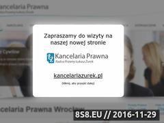 Miniaturka domeny www.kancelaria-zurek.pl