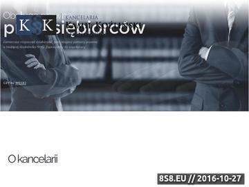Zrzut strony Kancelaria Kamil Koźliński - rozwody Bydgoszcz