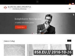 Miniaturka domeny www.kancelariabyrski.pl