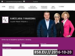 Miniaturka domeny www.kancelariafinansowa.net