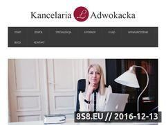 Miniaturka domeny www.kancelarialakomiec.pl
