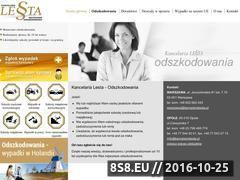 Miniaturka domeny www.kancelarialesta.pl