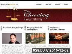 Miniaturka domeny www.kancelariamikulski.com