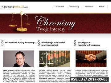 Zrzut strony Windykacja Poznań