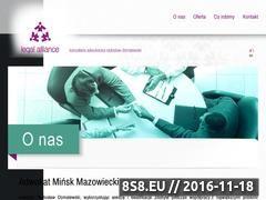 Miniaturka domeny kancelariaminsk.pl