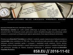 Miniaturka domeny kancelarianotarialna.eu