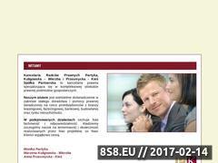 Miniaturka domeny www.kancelariapk.pl