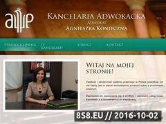 Miniaturka domeny www.kancelariaplock.pl