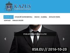Miniaturka domeny www.kancelariaprawnopodatkowa-kazus.pl