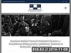 Miniaturka domeny kancelariawh.pl