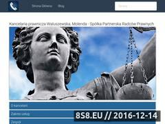 Miniaturka domeny www.kancelarie-prawne-kielce.pl