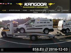 Miniaturka Wypożyczalnia samochodów dostawczych Warszawa  (kangoor.pl)