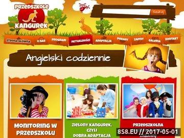 Zrzut strony Kangurek - przedszkole niepubliczne Białystok