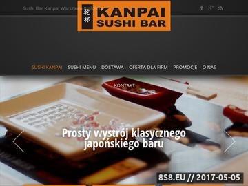 Zrzut strony Sushi do biura Warszawa
