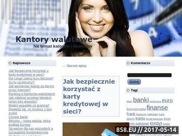 Zrzut strony Kantory walutowe online