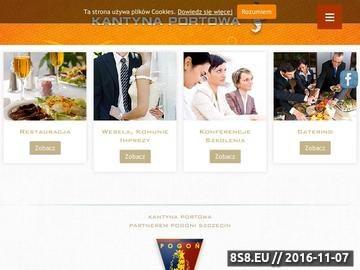 Zrzut strony Restauracja - konferencje, wesela, sala na wynajem