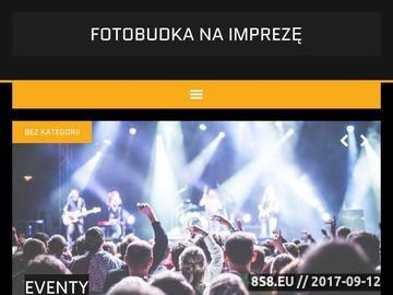 Zrzut strony Fotobudka Elbląg - Kapitan Budka