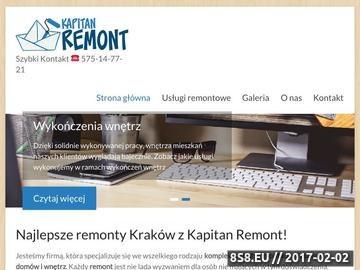 Zrzut strony Układanie płytek, kafelków i paneli w Krakowie - sprawdź