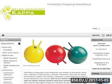 Zrzut strony Sklep Medyczny Kappa - inhalatory