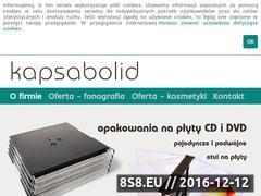 Miniaturka domeny kapsabolid.com.pl