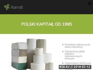 Zrzut strony KARAT papier toaletowy