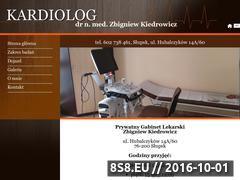 Miniaturka Kardiolog Zbigniew Kiedrowicz - Słupsk (www.kardiolog-slupsk.pl)