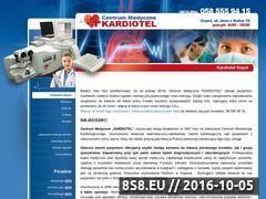 Miniaturka domeny www.kardiotel.pl