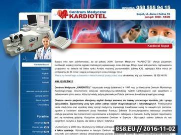 Zrzut strony Opis przychodni i świadczonych usług z zakresu medycyny pracy