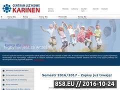 Miniaturka domeny www.karinen.pl