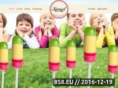 Thumbnail of Lizaki, słodycze producent - firma Karmel Website
