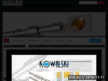 Zrzut strony Karnisze.com - sklep