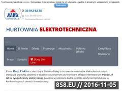 Miniaturka domeny www.karoelektro.com.pl