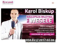 Miniaturka domeny www.karolbiskup.pl