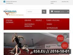Miniaturka domeny karolina-sport.pl