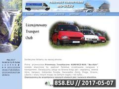 Miniaturka domeny www.karpacz-bus-przewozy.pl