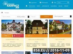 Miniaturka domeny www.karpacz-willagrota.pl