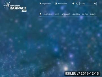 Zrzut strony Portal miasta Karpacz