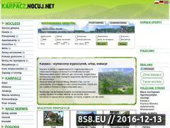 Miniaturka domeny karpacz.nocuj.net