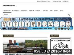 Miniaturka domeny karpiarstwo.pl