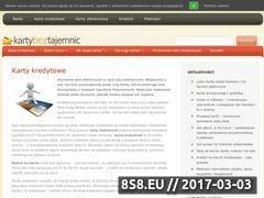 Miniaturka domeny www.kartybeztajemnic.pl