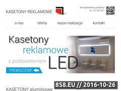 Miniaturka domeny kasetony.yoobee.pl