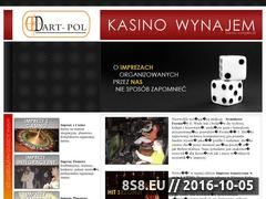 Miniaturka domeny www.kasino-wynajem.pl