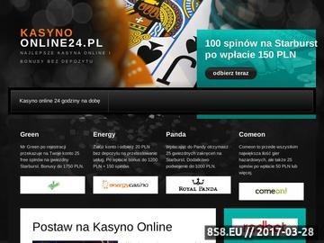 Zrzut strony Kasyno bez depozytu